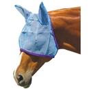 Intrepid International Fly Mask w/Ear Protection-Blue