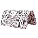 Intrepid International Maxtra Foam Fleece Western Pad Zebra Print