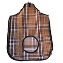 Intrepid International Hay Bag Plaid Mesh