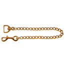 Intrepid International Solid Brass Chain - 20