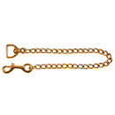 Intrepid International Solid Brass Chain - 30