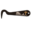Intrepid International Silver Overlay Hoof Pick - Cowboys Prayer