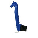 Intrepid International Horsehead Hoof Pick With Brush - Blue