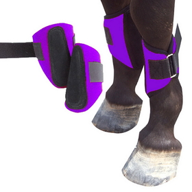 Intrepid International 245835BK Miniature Horse Splint Boots