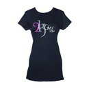 Intrepid International 2K905 2Kgrey Ladies Logo Tee Shirt Navy