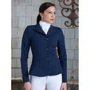 Intrepid International 44100 2Kgrey Ladies Show Riding Jacket, Frances Navy