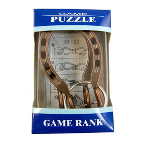 Intrepid International 600119 Horseshoe Puzzle Game