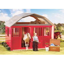 Breyer Horses Breyer Two Stall Red Wood Barn