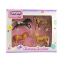 Breyer Horses BH5397 Stablemate Horse Crazy Real Horse Set