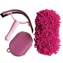 Intrepid International Horse Washing Kit-Pink