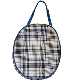 High Spirit HS1104 Lined Hat Bag Horsemans Plaid