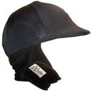 Equestrian Helmets Winter Helmet Cover Black