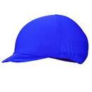 Equestrian Helmets Lycra Helmet Cover Royal Blue
