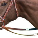 Legacy Bridlery Racing Reins Leather with Rubber Grip