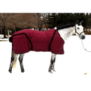 Intrepid International Snuggie Large Horse Stable Blanket Burgundy
