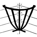 Intrepid International Corner Hay Rack