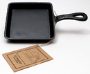 IWGAC 0166-10106 Old Mountain Cast Iron Preseasoned Square Skillet