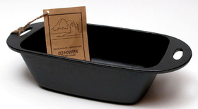 IWGAC 0166-10160 Old Mountain Cast Iron Preseasoned Loaf Pan