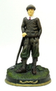 IWGAC 0170-14613 Cast Iron Door Stop Golfer