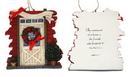 IWGAC 0182-25627D Roman Barn Door Ornament to Personalize