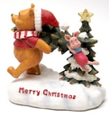 IWGAC 0182-38331 Roman Disney Collection: Lighted Pooh & Piglet with Tree
