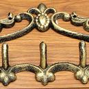 IWGAC 0184S-0741 Fleur De Lis Cast Iron Coat Hook