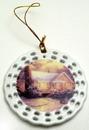 IWGAC 0193-612731 Thomas Kinkade 'Christmas Cottage' Ornament