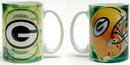 IWGAC 0193-622401 NFL Green Bay Packers Ceramic Mug
