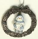 IWGAC 0193-97576 Snow Buddies Snowball Pewter Ornament