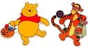 IWGAC 0197-92209057A Disney Pooh and Friends Halloween Window Jelz Set of 2