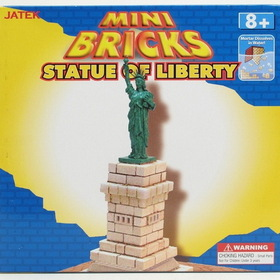IWGAC 0199-71182 Mini Bricks Build-A-Statue of Liberty