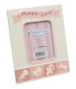 IWGAC 0199-96406 Pink Puppy's First Photo Frame