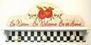 IWGAC 049-10832 Apple Shelf With Hooks