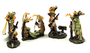 IWGAC 049-12084 Comical Deer Hunter Ornaments 4 Assorted Priced Each