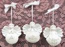 IWGAC 049-15222 Angel Ornament Set of 3