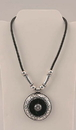 IWGAC 049-40347 Silver Tone Pendant Necklace