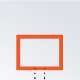 Jaypro Rectangular Steel Basketball Backboard, Price/each