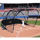 Jaypro Big League Portable Bat Cage Black