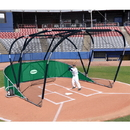 Jaypro Big League Portable Bat Cage Green