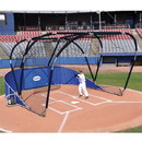 Jaypro Big League Portable Bat Cage Royal Blue