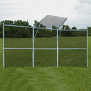 Jaypro Perm Bsbl/Sftbl Backstop 3 Panels, 1 Ctr Over