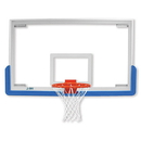 "Jaypro 48"" Rectangular Glass Backboard"