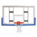 "Jaypro 42"" Rectangular Glass Conversion Backboard"
