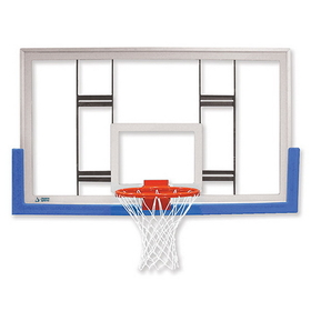 "Jaypro 42"" Rectangular Glass Conversion Backboard, Price/each"