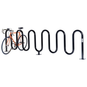 Jaypro Perm PC Wave Bike Rack - 7 Capacity, Price/each