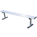 Jaypro 7-1/2' Permanent Players Bench