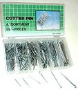 555 Pcs Cotter Pin Assortment