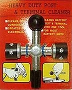 4 Way Battery Post & Terminal Cleaner