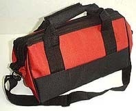 21 Pockets Canvas Tool Bag (16x9x11)""