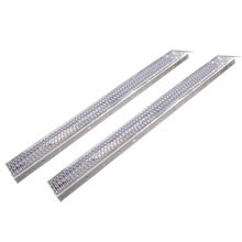 2 Pcs Steel Loading Ramp Set